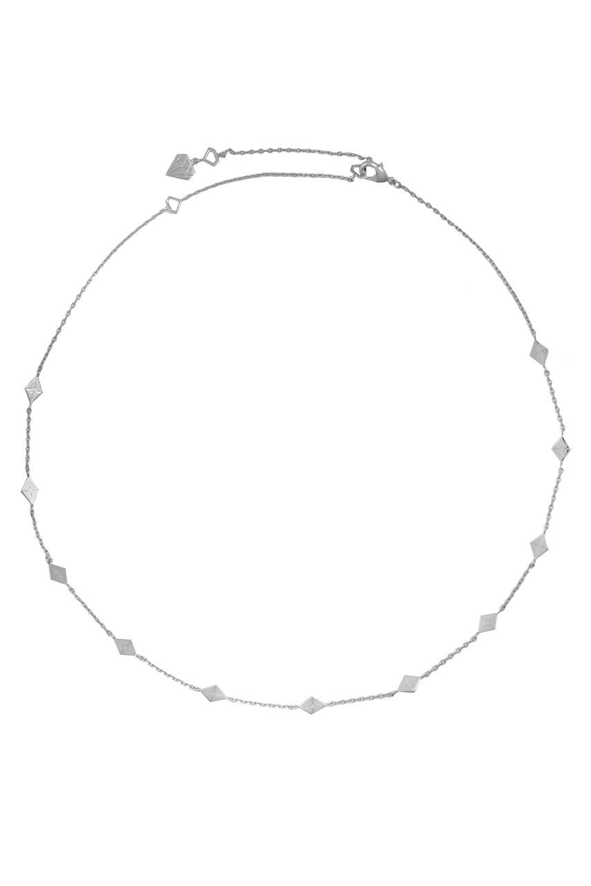 Zyia Silver Choker Necklace