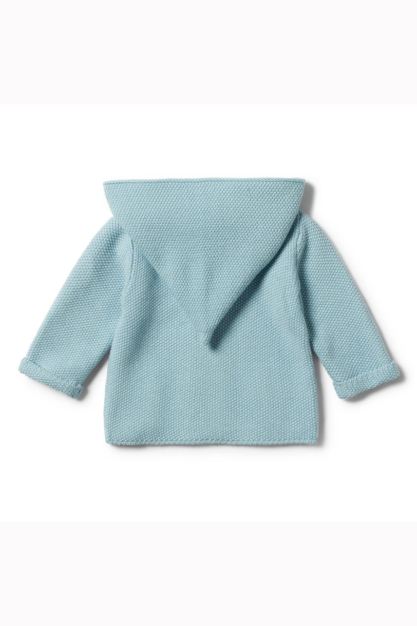 Seafoam Knitted Jacket