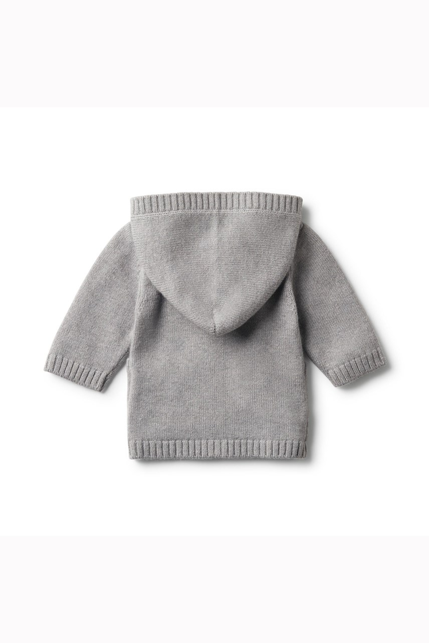 Luxe Wool Knitted Jacket