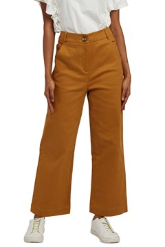 Tim Twill Cropped Trouser TAN 1