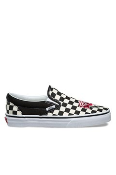 cce64cfc830af Classic Slip On Satin Patchwork Checkerboard Sneaker - VANS - Smith ...