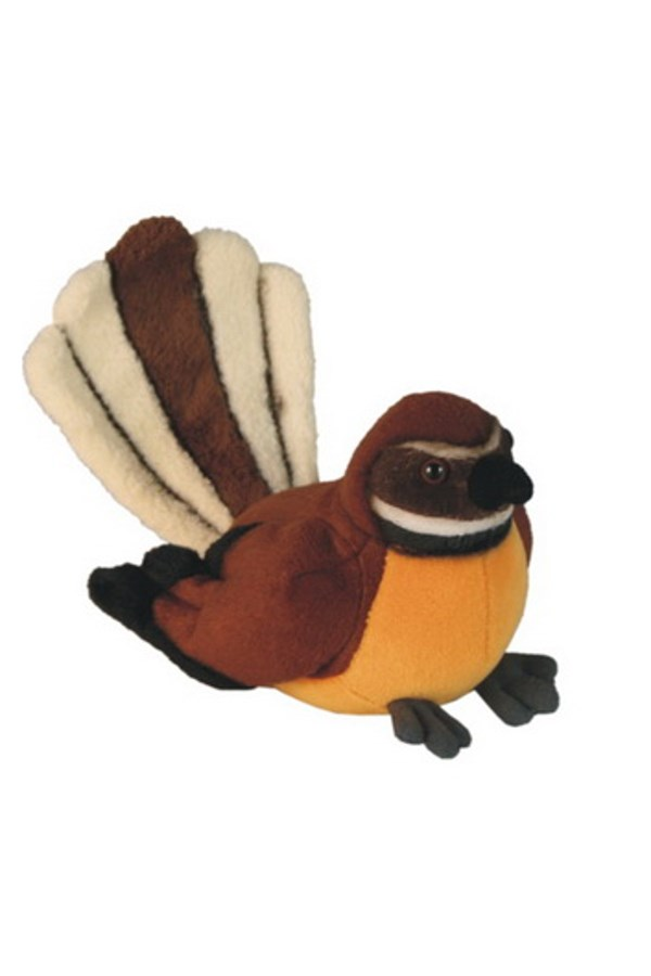 Fantail Bird with Sound 15cm