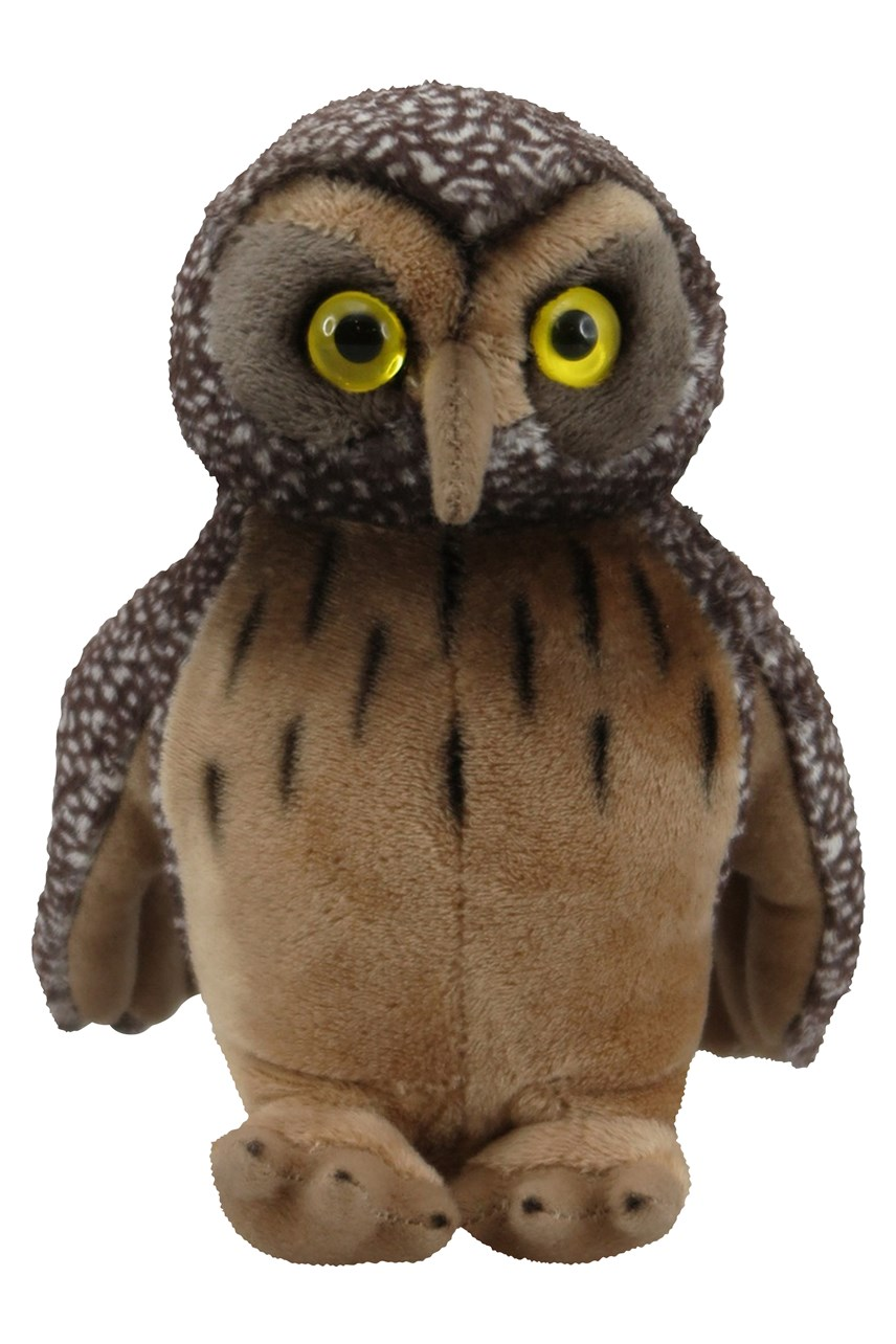 Morepork with Sound 15cm