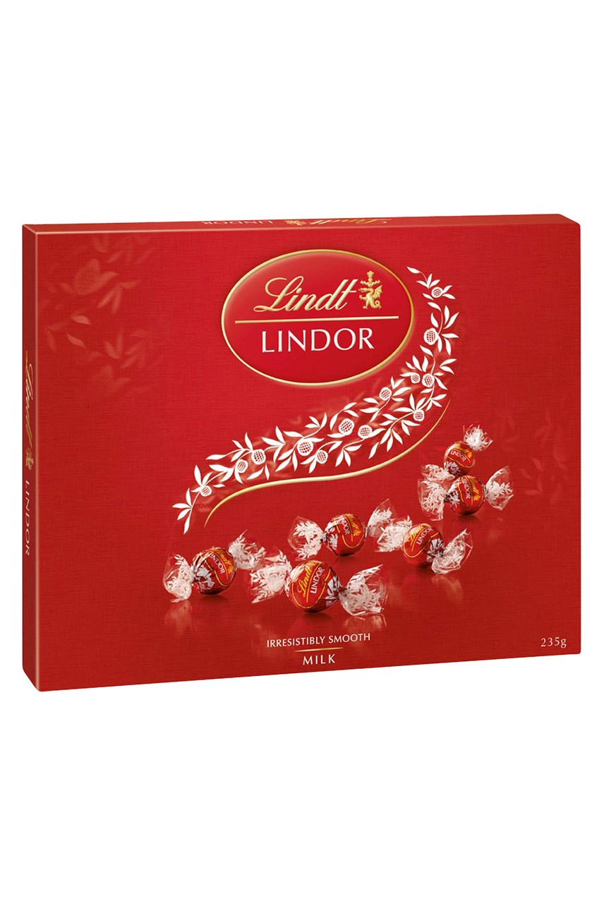 Lindt Lindor Milk Chocolate Gift Box - 235g