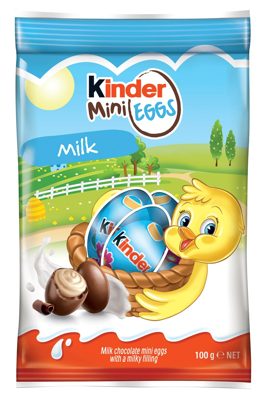 Kinder Milk Chocolate Mini Eggs - 100g