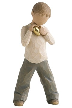 Heart Of Gold Figurine 1