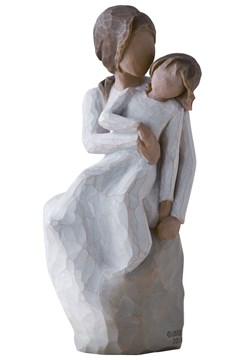 Mother And Daughter  Figurine -