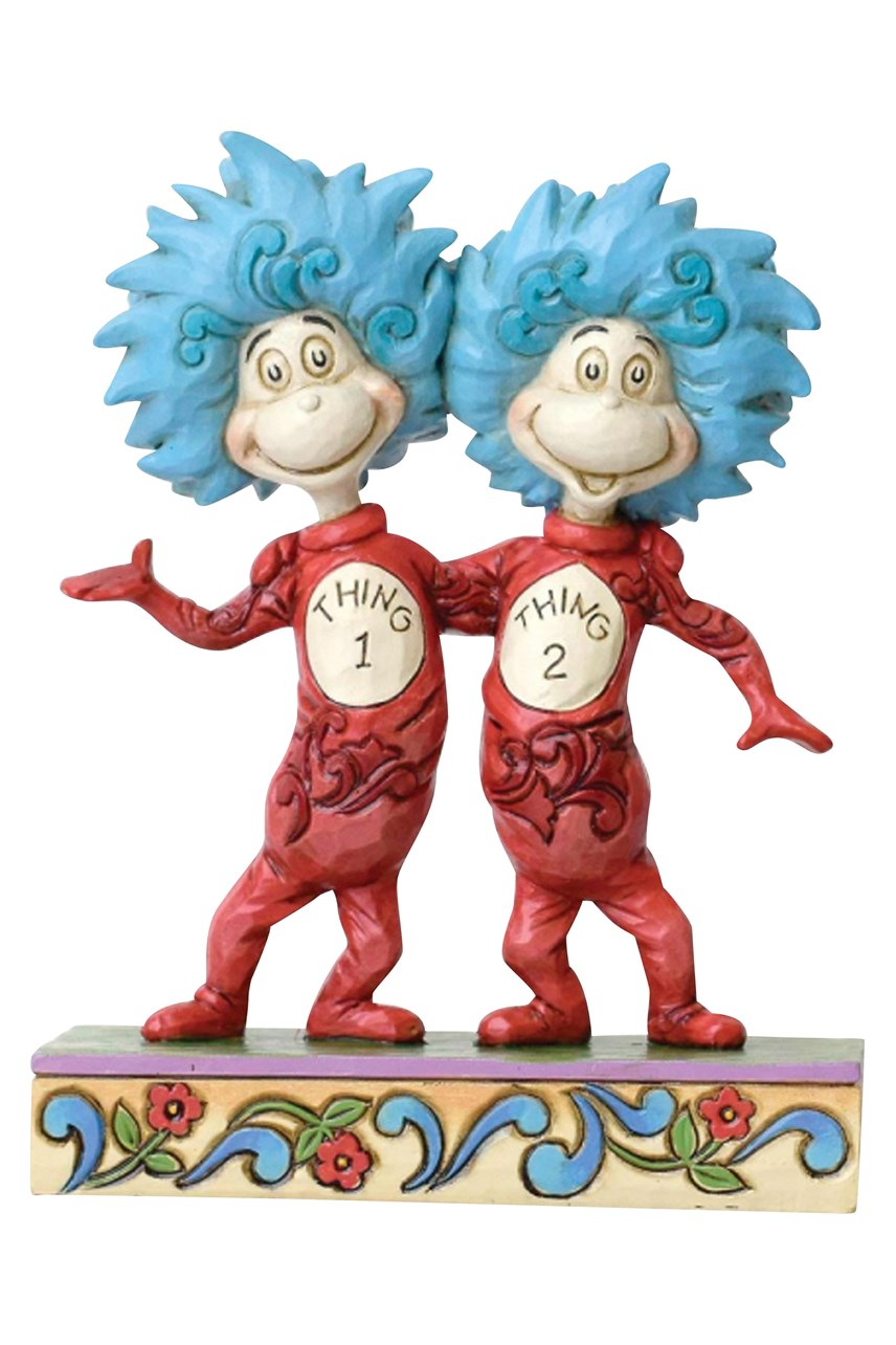 Thing 1 And Thing 2 Figurine