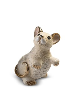 White Rat Figurine 1