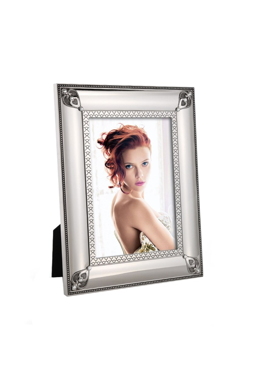 Jewel Lovehearts Photo Frame