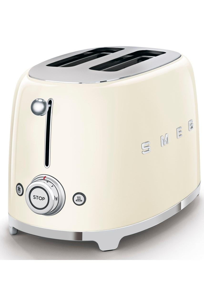 2-Slice Toaster - Cream