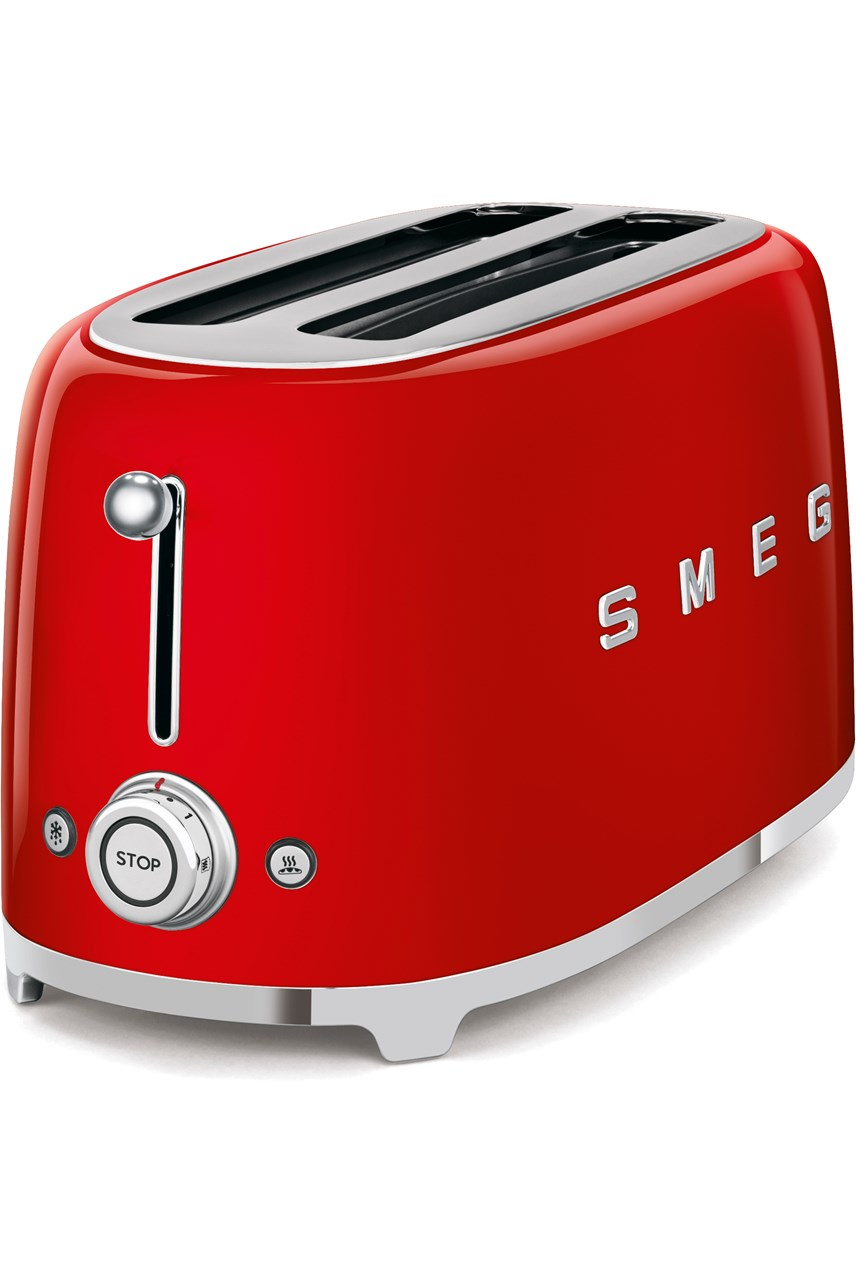 4-Slice Toaster - Red