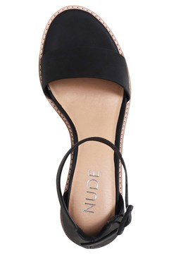 Mickee Sandal - black leather
