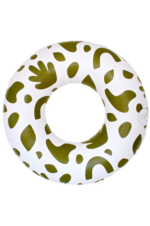 Shapes Oversized Pool Float - khaki green