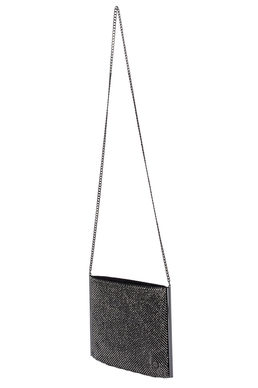 Olympia Crystal Mesh Crossbody Bag