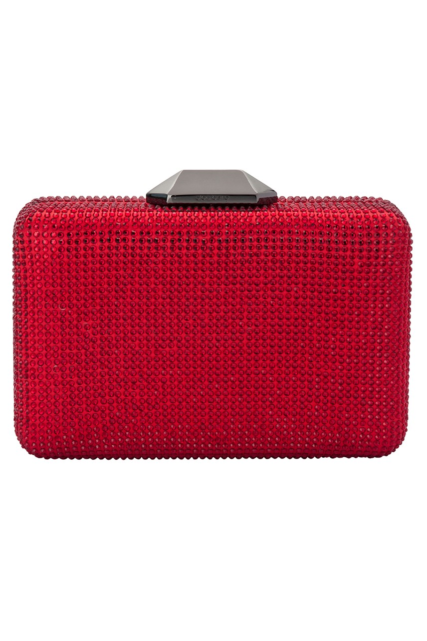 Evelyn Crystal Rectangular Pod Clutch