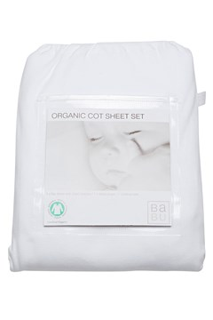 Cot Sheet Set - White WHITE 1