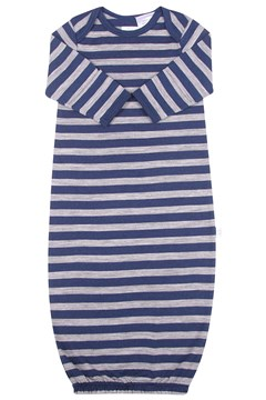 Merino Bundler Sleep Sack - Navy Stripe NAVY STRIPE 1