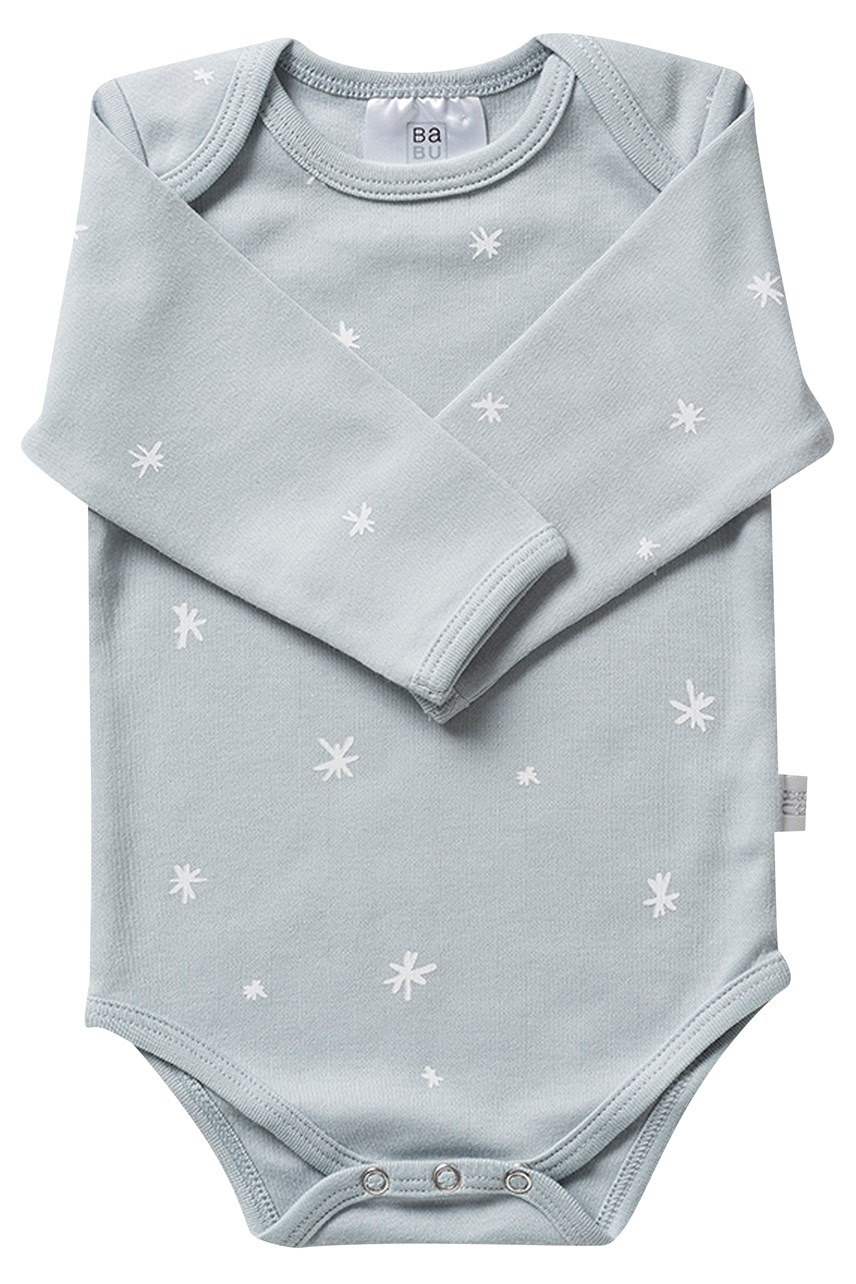 Long Sleeve Bodysuit - Coastal Blue Star