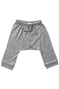 Merino Drop Crotch Pant - grey