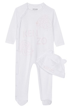 Babygrow & Hat Gift Set LIGHT PINK 1