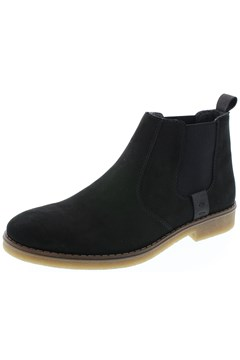 Suede Chelsey Boot BLACK 1