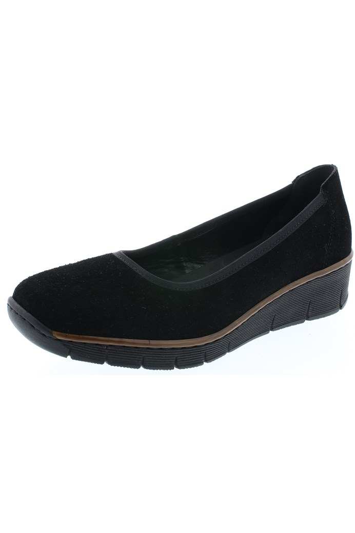 Suede Slip On Loafer