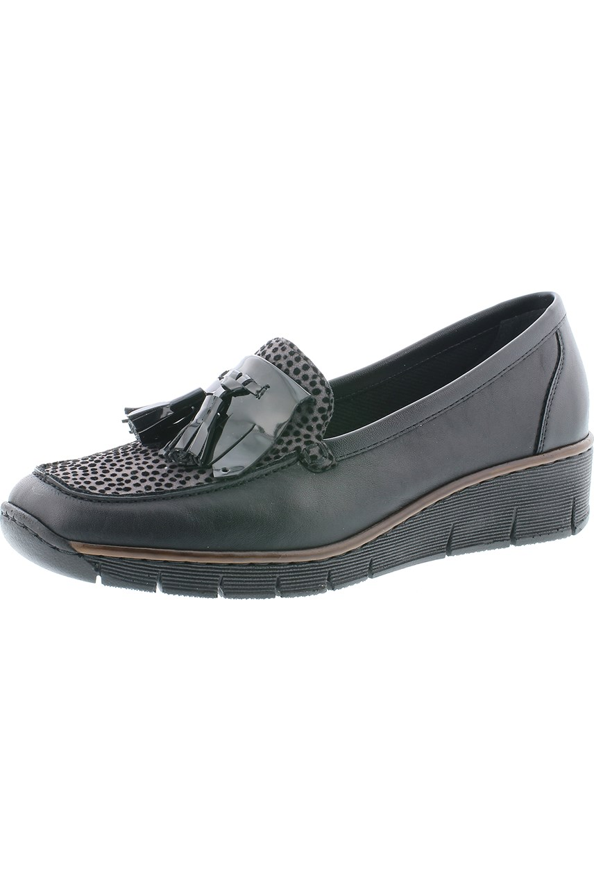 Leather Loafer With Tassel