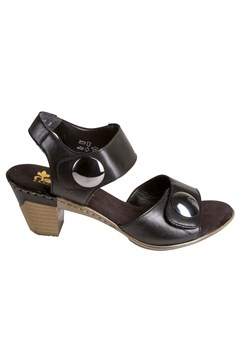 Heeled Sandal BLACK 1