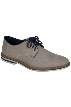 Perforated Lace Up Shoe BEIGE 1