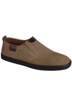 Perforated Slip On Shoe TOFFEE 1