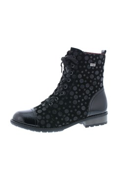 Combat Lace Up Boot BLACK 1
