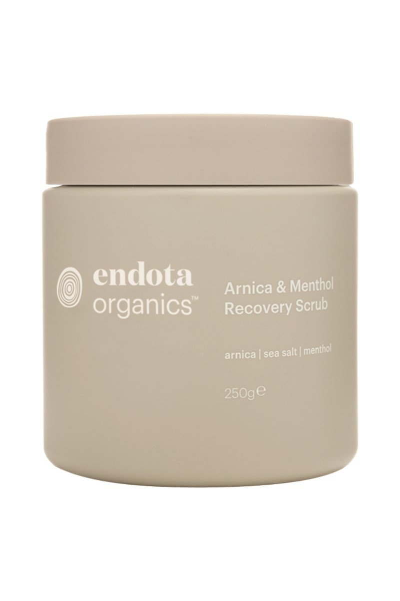 Arnica And Menthol Recovery Scrub