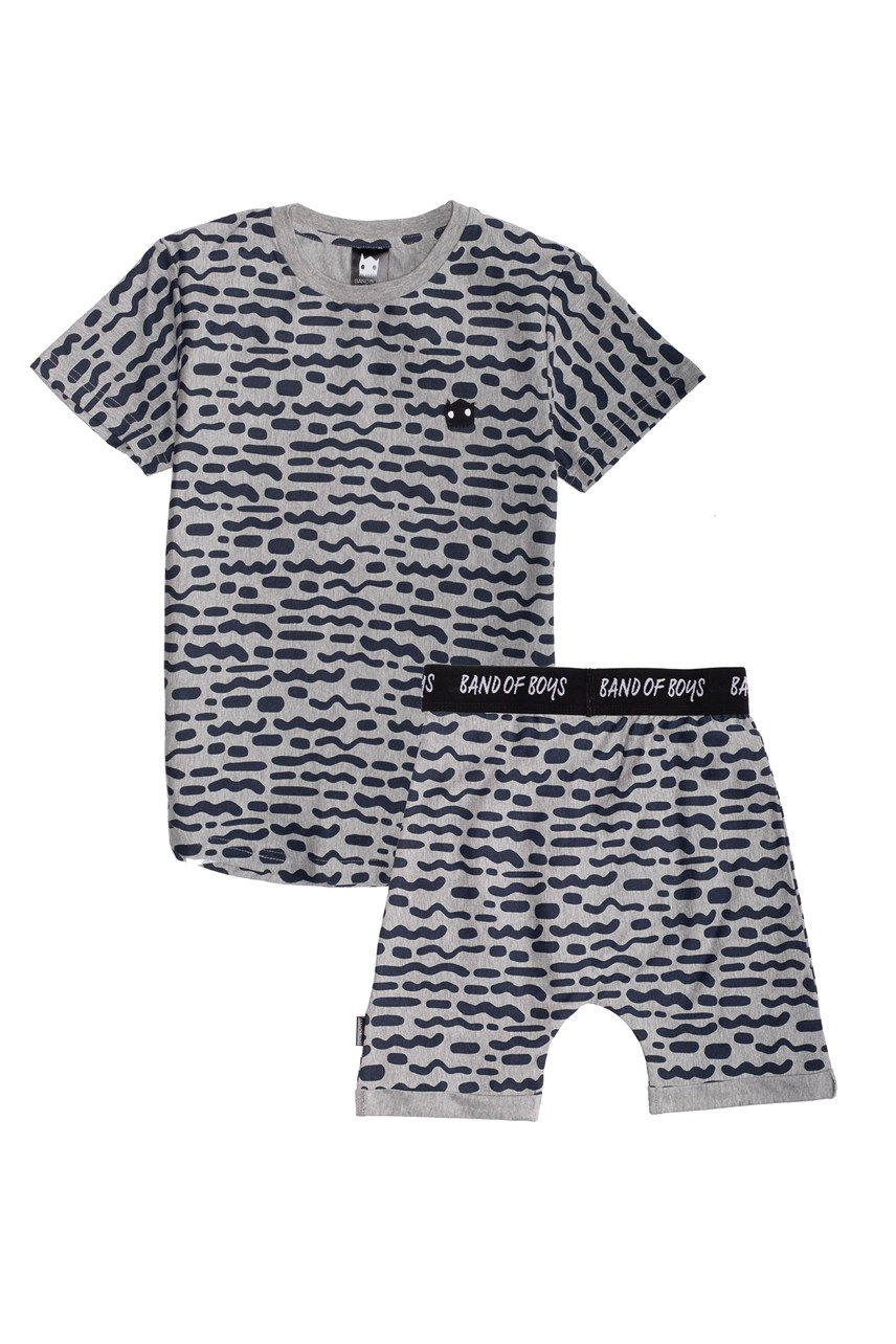 Stripe Repeat Summer PJ Set