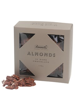 Slivered Almonds in Dark Chocolate -