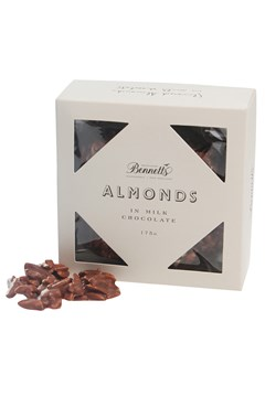Slivered Almonds in Milk Chocolate 1