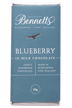 Blueberry Milk Chocolate Bar 1