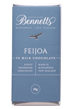 Feijoa Milk Chocolate Bar 1