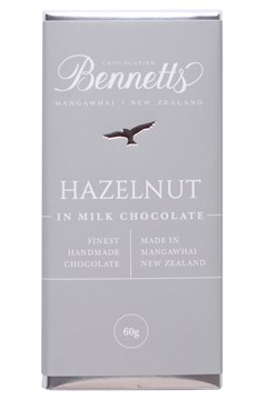 Hazelnut Milk Chocolate Bar 1