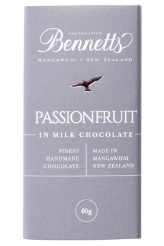 Passionfruit Milk Chocolate Bar 1