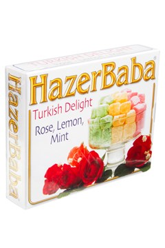 Rose, Lemon & Mint Turkish Delight 1