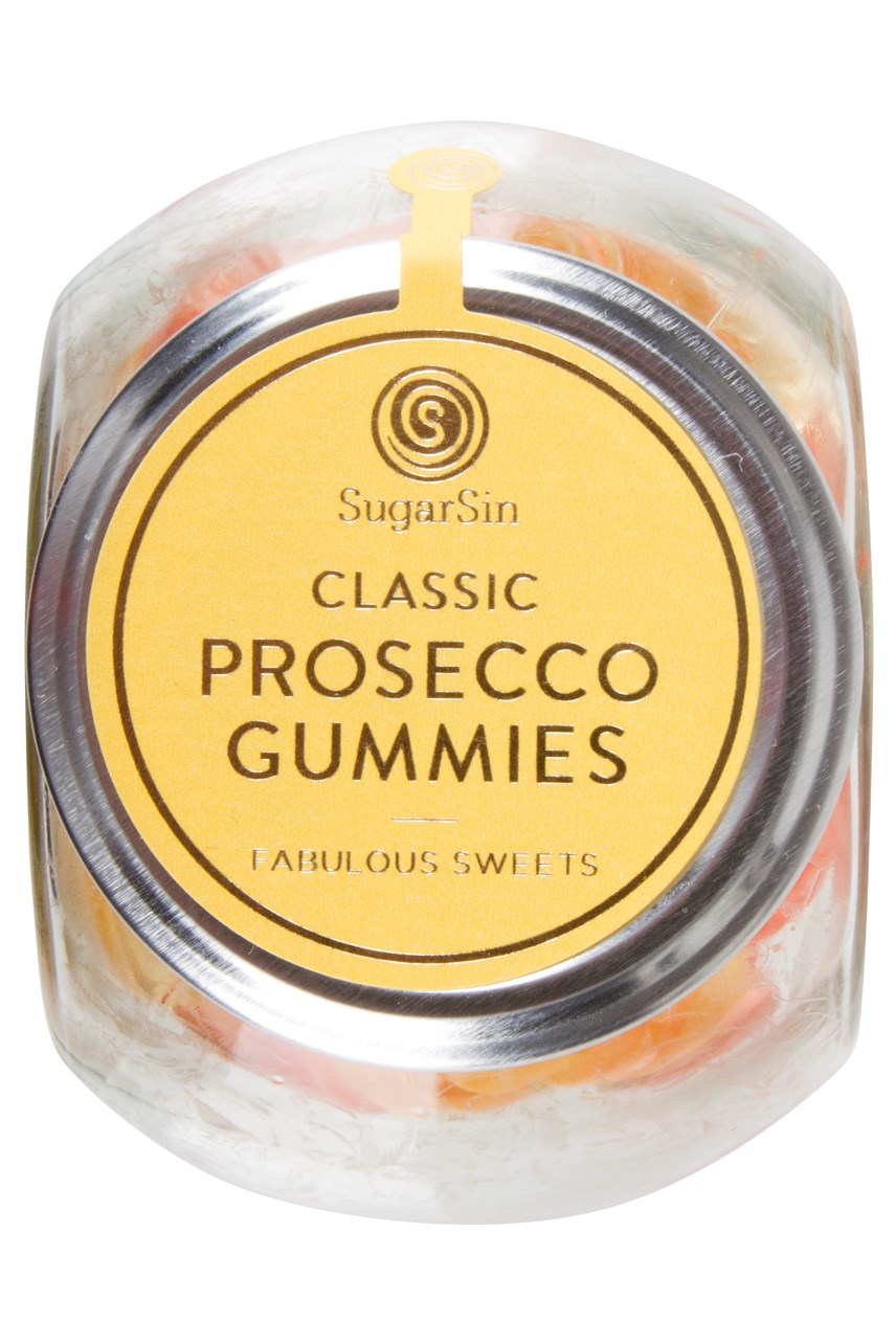 Classic Prosecco Gummies In Glass Jar