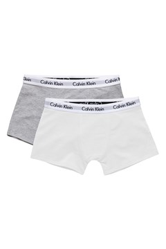 Modern Cotton Trunk 2 Pack WHITE/GREY 1