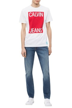 CKJ 026 West Houston Slim Jeans MB 805 1
