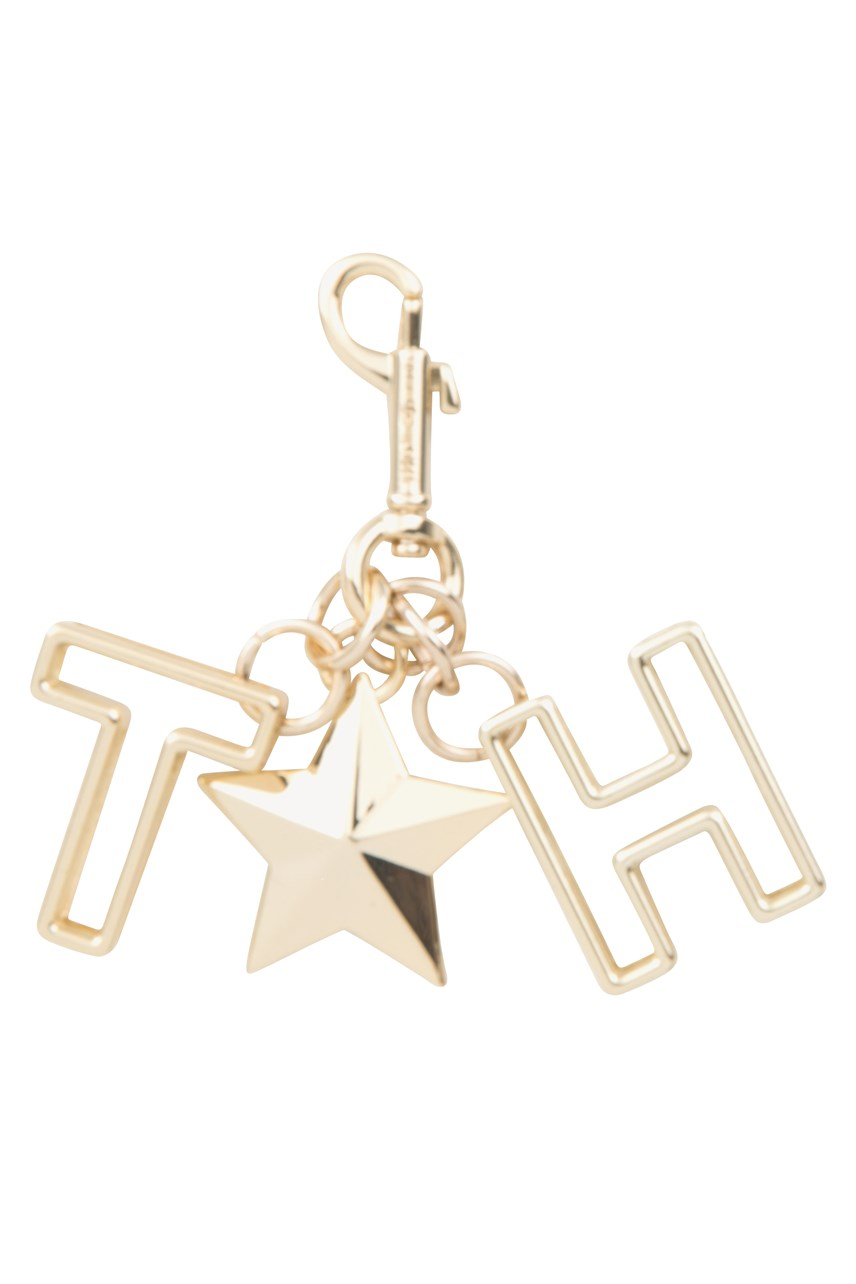 Star Charm Key Ring