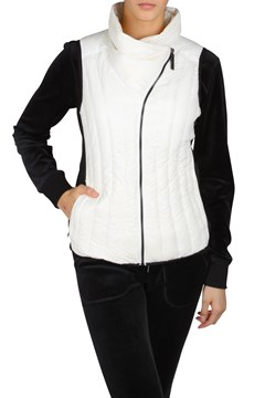 Down Drama Collar Vest CLOUD COMBO 1
