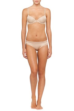 Naked Touch Balconette Push Up Bra BARE 1