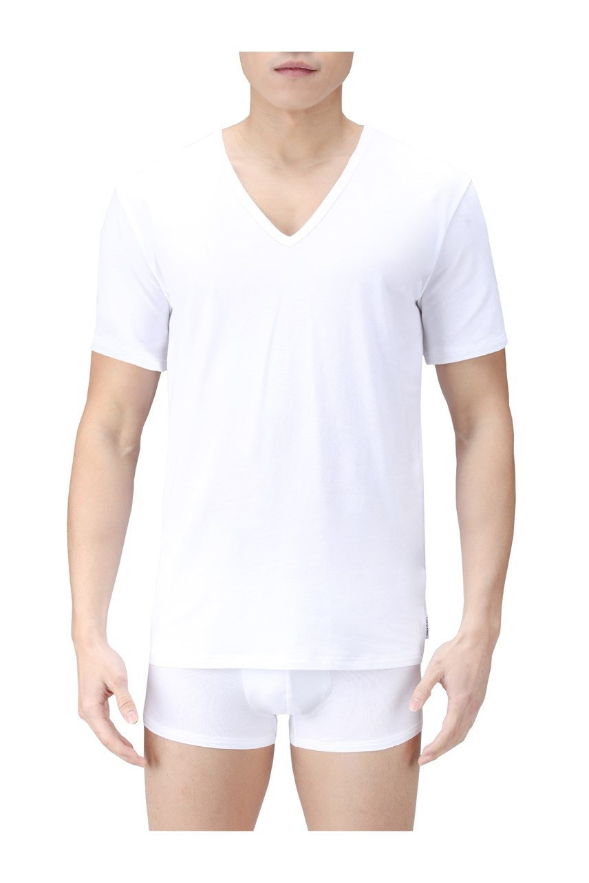 CK One Cotton V-Neck T-Shirt 2-Pack