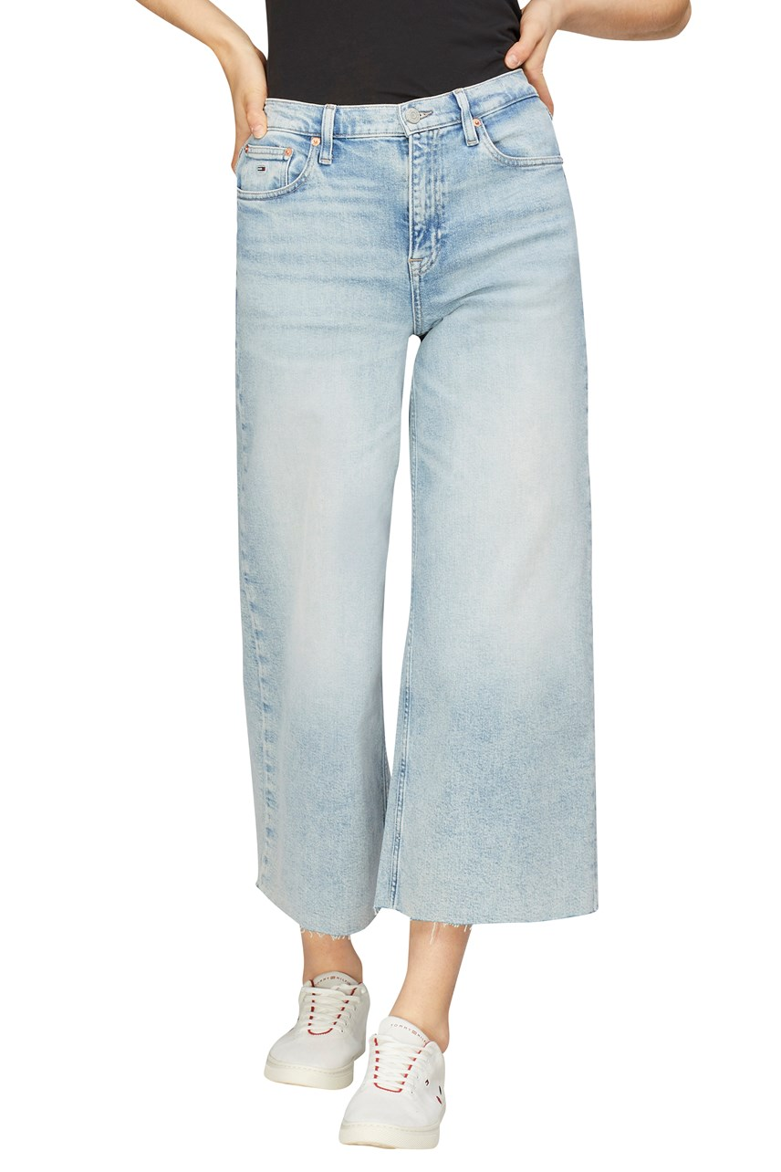 Wide Leg Ankle Jeans