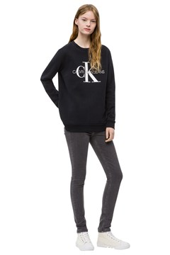 Core Monogram Sweat CK BLACK 1